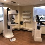 mammogram and technologist units picture in Arcadia Breast Center